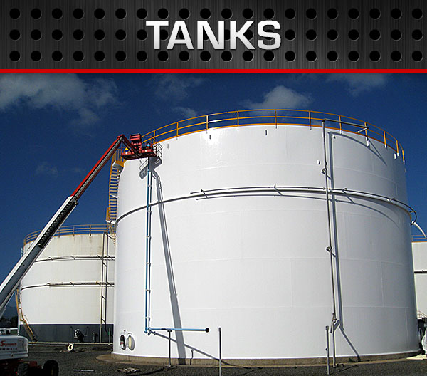 Polyurea Tank Coatings